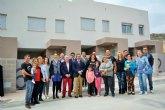 Fomento entrega en Ojós las llaves de cinco viviendas de promoción pública de alquiler a familias con necesidades de residencia