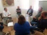 Coag presenta su nueva directiva al alcalde y le solicita apoyo para intentar la rebaja de módulos en distintos cultivos en nuestro comarca