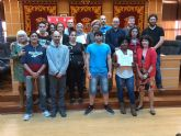 La Concejalía de Bienestar Social de Molina de Segura entrega los diplomas a las 15 personas con bajo nivel de empleabilidad que han participado en el curso de competencias básicas para el empleo
