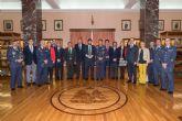 Fernando López Miras realiza una visita a las instalaciones de la Academia General del Aire de San Javier