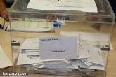 Listas de las 8 candidaturas que concurren a las elecciones municipales en el Ayuntamiento de Totana en la cita del próximo 26 de mayo