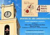 """""""50 años viviendo la fe"""" en San Roque de Alcantarilla"""