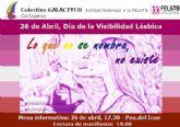 Cartagena reivindica igualdad de derechos para las lesbianas por el Día de la Visibilidad Lésbica