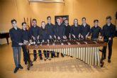 Los once finalistas de la modalidad de Percusión de Entre Cuerdas y Metales hacen brillar su maestría