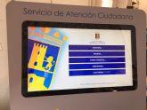 El Ayuntamiento de Alhama de Murcia incorpora un sistema de cita previa para evitar esperas