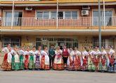La Reina de la Huerta 2019 y sus damas de honor visitan las instalaciones de la Guardia Civil de Murcia