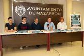 El grupo local 'cine y palomitas film' presenta un mediometraje rodado en Mazarr�n