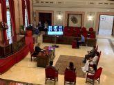 El Ayuntamiento retransmite por primera vez las bodas civiles por videoconferencia