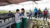 Los Centros de Día 'José Moyá Trilla' y para Personas con Enfermedad Mental realizan una visita a las instalaciones de 'Fundown' en Librilla