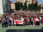 Los alumnos del Instituto Alfonso X reciben el premio #Murciasemueve del Ayuntamiento de Murcia