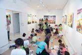 Juan Mariano Balibrea acerca su obra a los escolares