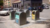 La concejalía de Servicios concluirá en los próximos meses el soterramiento de contenedores del municipio