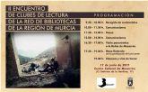 Mazarrón acogerá el segundo encuentro de clubes de lectura de la red de bibliotecas regional