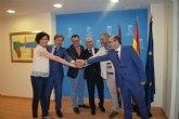 Puerto Lumbreras, Mazarr�n, Alhama, Totana y Fuente �lamo colaborar�n con la Comunidad para acelerar proyectos de inversi�n
