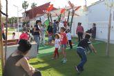 Los más pequeños disfrutan 'Nos vemos en el parque'  con talleres lúdicos y personajes Disney