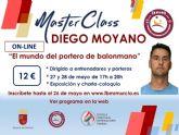 La Federación de Balonmano de la Región de Murcia lanza un ciclo de master class on-line