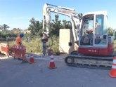 Esta semana está previsto que finalicen las obras de instalación de una tubería de distribución de agua potable en el Camino de Los Sifones