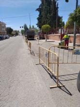 Adecuación de aceras Avda. Luis de los Reyes como itinerario peatonal accesible