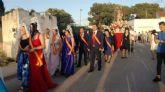 San Juan Bautista procesiona por las calles de El Albujón