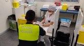 Agentes de la Policía Local y voluntarios de Protección Civil se someten a test de inmunidad para la detección de anticuerpos del COVID-19