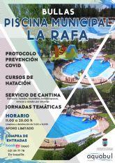 La Piscina Municipal de La Rafa abrirá sus puertas este próximo Sábado 27 de Junio