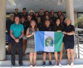 El Ayuntamiento recibe a las Selecciones Femeninas  de Dragon Boat que viajan al Campeonato Europeo