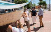 Los voluntarios del campo de trabajo Cartagena, la tradición del mar, continúan recuperando el patrimonio marítimo