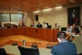 El delegado del Gobierno se reúne en Totana con el grupo de trabajo sobre el nuevo trazado del AVE y la Línea de Alta Tensión