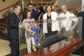La ministra de Defensa y la presidenta de NAVANTIA visitan la dársena de Cartagena