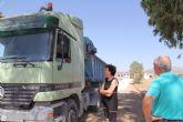 La Comunidad ejecuta obras de acondicionamiento en el camino de Los Pérez por importe superior a los 40.000 euros