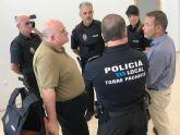 Torre Pacheco incrementa la seguridad de la Policía Local con 60 chalecos antibalas unipersonales