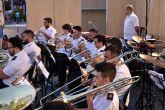 La banda de m�sica de Fuente �lamo protagoniz� el segundo concierto de los