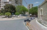 La Plaza Juan XXIII continuará cortada al tráfico por las obras de canalización de pluviales