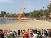 Exhibición aérea, día Caldero y homenaje Gregorio 'El de La Lonja'
