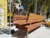 Avanzan las obras de la segunda fase de peatonalización de la avenida Alfonso X