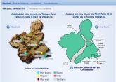 La contaminación por partículas registra Nivel 1 preventivo en la estación de medida de La Aljorra por la llegada de masas de aire procedente de África