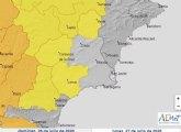 Suben las temperaturas en los próximos días, lo que hará que se activen los avisos en la Región de Murcia