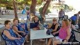 """El programa de viajes """"¡Vente a la playa!"""" se desarrolla un año más durante los meses de verano en la Cala del Pino de La Manga del Mar Menor"""
