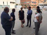 El Alcalde de Torre Pacheco y el Concejal-Delegado de Urbanismo, Medio Ambiente y Agricultura se reúnen con el Director General del Mar Menor