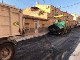 Finalizan esta semana las obras de renovación de redes de agua potable y alcantarillado en la calle Teniente Pérez Redondo