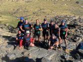 El grupo 'Los Andarines' de Totana asciende al Mulhacén para dar visibilidad a las enfermedades raras y sin diagnóstico