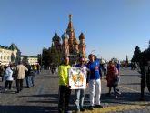Atletas del Club Atletismo Totana participaron en la carrera popular de Gádor y en el maratón de Moscú