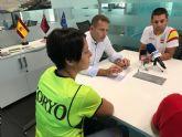 El Alcalde de Torre Pacheco recibe a Técnicos del Club Koryo