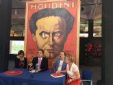 Los secretos del gran Houdini llegan al Museo de la Ciencia y el Agua de la mano de Fundación Telefónica