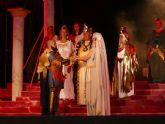 Aníbal e Himilce aclamados por las tropas carthaginesas tras su boda en el Puerto
