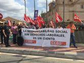 CCOO Enseñanza exige derechos laborales y libertad sindical en la UCAM