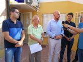 José Ángel Alfonso, acompañado de vecinos de Ribera De Molina, se reúne con el director general de Carreteras