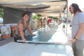 El concejal de Mercado Semanal y Plaza de Abastos inicia una ronda para presentarse a los vendedores ambulantes de este servicio