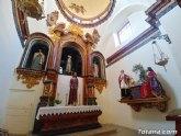 El grupo escultórico de Jesús y la Samaritana se encuentra expuesto en la capilla de Los Dolores de la Iglesia de Santiago