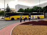 Los autobuses de las líneas que conectan con el campus de Espinardo serán de alta capacidad